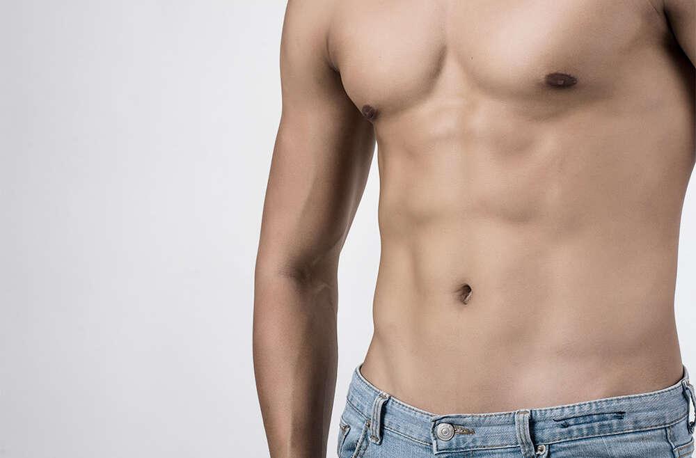 Cirugía estética de pectorales masculinos
